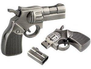 Metal Gun Flash Drive – флешка в виде револьвера