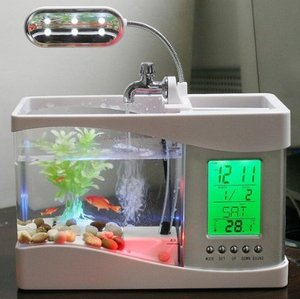 Usb Desktop Fish Aquarium