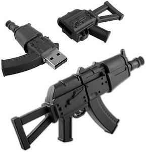 AK-47 Assault Rifle USB Flash Drive - флешка в виде автомата Калашникова