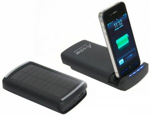 A-Solar iOS Power Dock – заряди iPhone от солнца