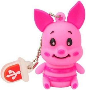 Piglet USB flash drive – флешка в виде Пятачка