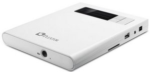 PlexEasy USB 2.0 – внешний DVD-привод с кардридером