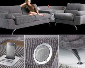 Sound Sofa – диван со встроенной аудиосистемой