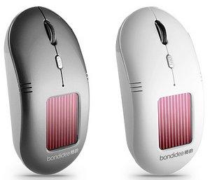 Solar Wireless Optical Mouse – беспроводная мышь с солнечной батареей