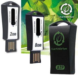 ATP EarthDrive – первая «экологически чистая» флешка