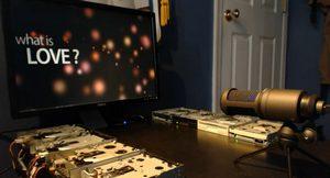 Floppy drive player или Как Левша дисковод подковал