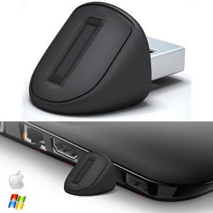 Authentec's Thumbdrive-sized USB Fingerprint Reader – USB-сканер отпечатков пальцев