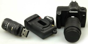 Camera USB Flash Drive – флешка в виде камеры Canon