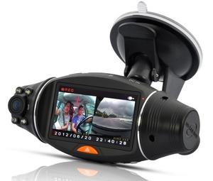 Dual Camera Car DVR with GPS Logger and GPS Sensor – двухмодульный видеорегистратор
