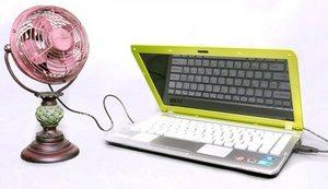 Mini Decorative External USB Desk Cooling Fan