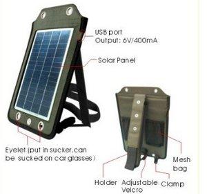 Solar panels charger – портативная солнечная батарея