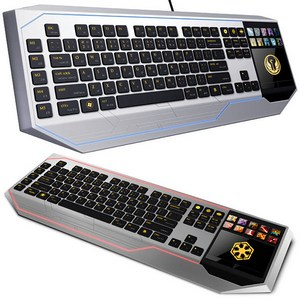 Star Wars Keyboard With LCD Touchpad – клавиатура с тачпадом в стиле «Звездных войн»