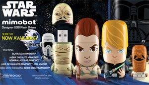 Star Wars Mimobot Flash Drives – флешки в стиле Star Wars