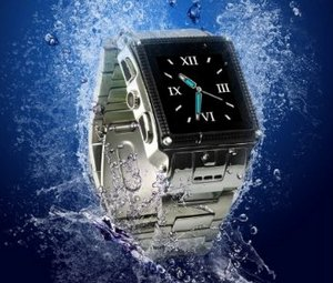 Water Proof Stainless Steel Watch Mobile Phone – водонепроницаемые часы-смартфон