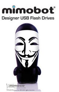 Anonymous Mimobot Flash Drive – «хакнутая» флешка!