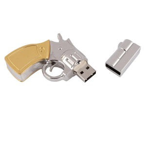 Metal Gun shape USB3.0 2