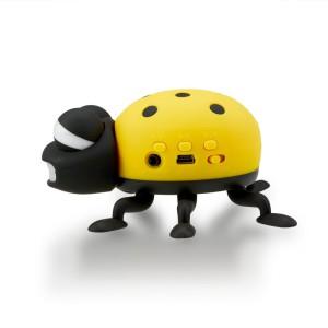 Portable Cartoon Ladybug Mini SD USB2_